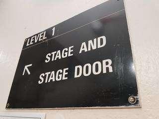 Lion king backstage board