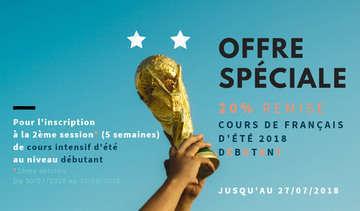 Offre execptionnelle   d%c3%a9butant 20    %c3%a9t%c3%a9 2018