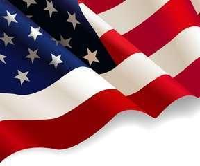 Us flag illustrate