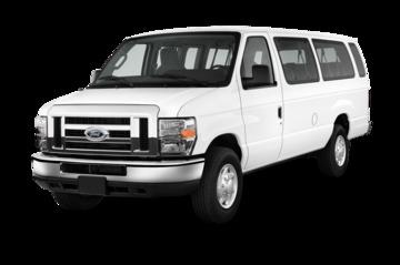 2014 ford e series 350 xls super duty passenger truck angular front