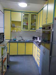 Full view of kitchen