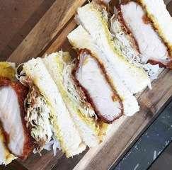 200g pork katsu sandwitch