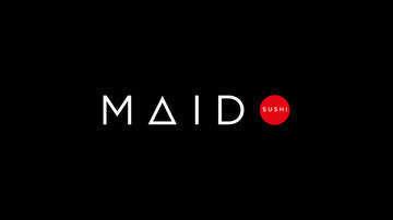Maido logo on black