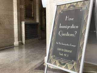 Immigration lawyer sign