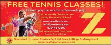 Free tennis  2019 june