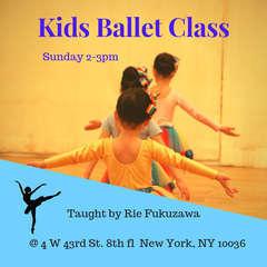 Kids ballet class