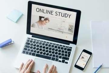 Online study photo