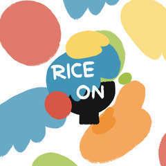 Riceon logo w  background