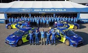 Subaru rally 2