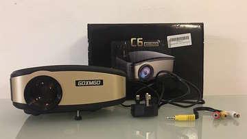 Mini wireless projector a