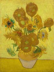 Vincent van gogh vase with fifteen sunflowers