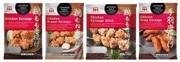 Japanese table karaage series