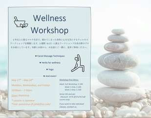 Wellness workshop japanese