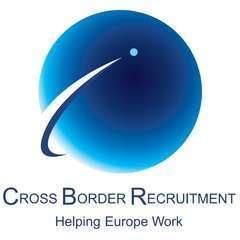 Cross border recruitment logo square