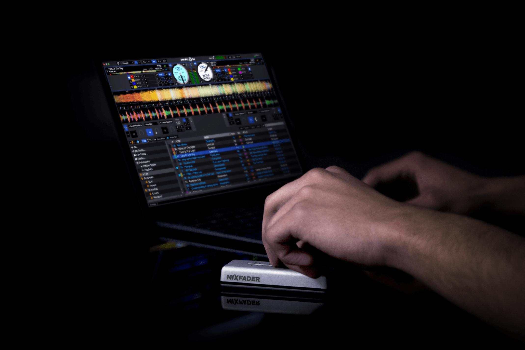 Mixfader and MIDI