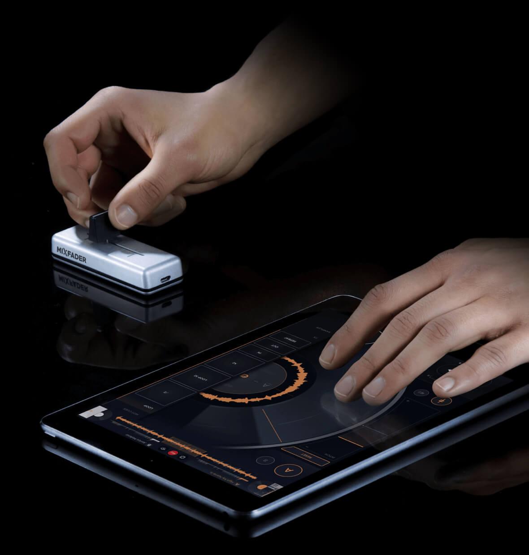 iPad and mixfader
