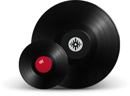 Timecode and standard audio vinyl