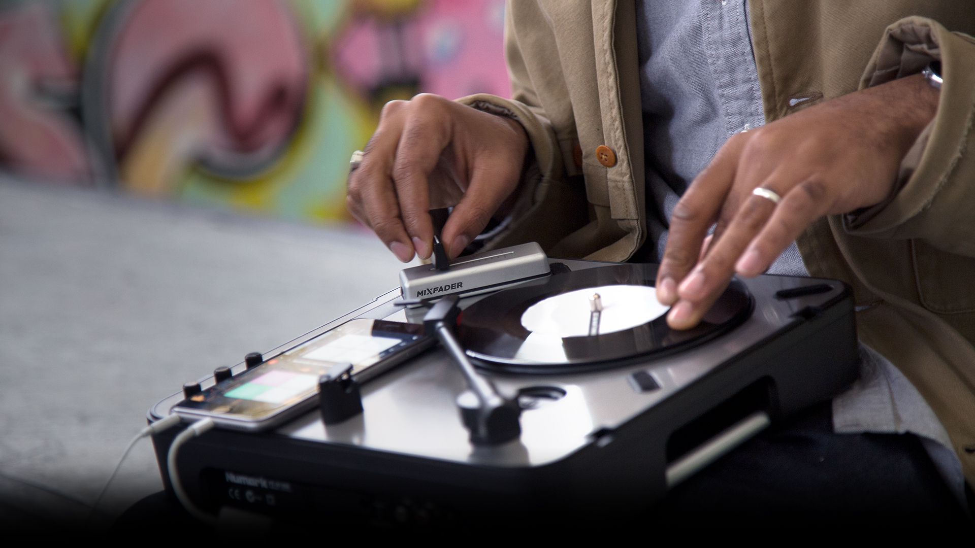 Mixfader | How to use Mixfader with your turntables
