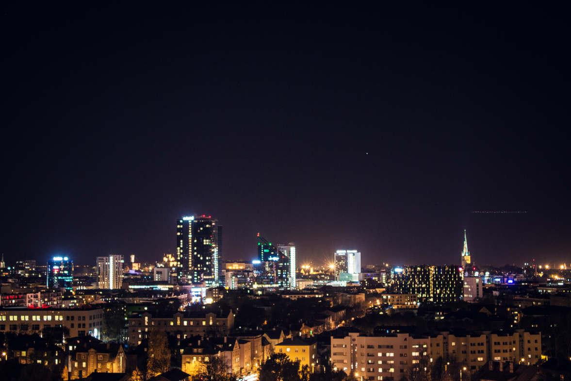 Ночной город просто прекрасный