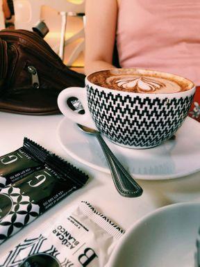 el café de la mañana siempre es un momento para calmarse y pensar en planes para el futuro...😍