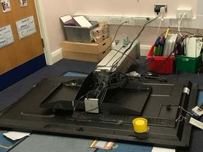 <p>Burglars ravaged a primary school resulting in damages worth thousands.</p><p>All Saints C of E Primary School at Whitefield was ransacked around 5:30 am due to which several students were sent back home.&nbsp;</p><p>There was massive property damage which included breakage of televisions, interactive whiteboards, and windows.&nbsp;</p><p>The damaged area of the school was closed on Wednesday. School authority informed parents of about 60 students that school would be closed for the students.</p><p>The burglars managed to escape before they could be caught. Many parents supported the school with some contribution to recover the damages.&nbsp;</p>