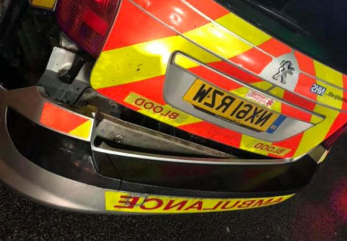 <p>A driver in Leeds, crashed into the side of an ambulance while driving recklessly on the city roads. Police are working on tracking down the driver who was involved in the unfortunate accident. The driver of the vehicle drove away after crashing into the side of the car. David Bryan, the ambulance driver, was the other driver involved in the accident.&nbsp;</p><p>He was carrying the blood samples to the Leeds General Infirmary. The ambulance driver slightly avoided the head-on collision with the other vehicle of the night of 10th October at around 9:20 PM. The driver of the ambulance had stopped at the BP petrol station when his ambulance was hit on the right side by the other vehicle. The wing mirror and the rear bumper was affected in the crash. Mr Bryan will have to pay out of his pocket for the repairs of the ambulance.</p>
