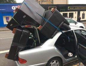 <p>A driver was reported for load and other alleged driving offences for driving with sofa and armchair assembled on the car roof in Glasgow.</p><p>Police was shocked watching those items piled on the car roof, stacked along with the opened car boot. It was tired with a few straps for protection.</p><p>The driver was captured on the Aikenhead Road on October 5 and was given instructions for proper transportation of such items in the future.</p><p>This 49 years old man was reported to the prosecutors for load and driving offences.</p><p>Road Policing Scotland tweeted a picture of the loaded car with hashtags #TheMoreYouLookTheWorseItGets and #WeNeedTheManWithAVan. The incident seized many people's attention.</p>