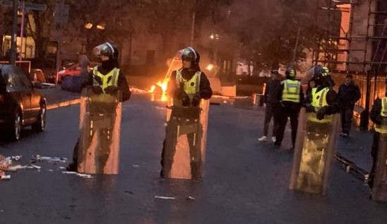 <p>The police have made an arrest in which four people were taken, including two schoolboys. They were arrested for participating and causing disorder at a republican demonstration in Glasgow. The police said that they were called to control the riot caused by a large-scale disturbance in Govan on 30 August.&nbsp;</p><p>The police arrested two men who were 20 and 30 years old and two boys who were 14 and 15 years old on Friday. They were later released on bail after a court appearance. The police said that they had gathered evidence against the arrested men and boys with the help of CCTV footage and door-to-door inquiries. The police have requested the public to help in identifying more people involved in the disturbance and has set up a dedicated mail account where people can send videos and photos.</p><p>&nbsp;</p>