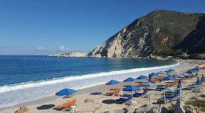 """<h2><strong style=""""color: rgb(0, 71, 178);""""><em>Όμορφο και ουράνιο τόπο! Μεγάλη παραλία, ζεστό γαλάζιο νερό, πέτρες! Ήταν σε αυτή την παραλία που επέστρεψα ξανά και για όλη την ημέρα !!! Σας συνιστώ σε όλους να δουν αυτό το υπέροχο μέρος !!!</em></strong></h2>"""