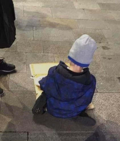 <p>Sam, who is a 5-year-old homeless child, was photographed while he was eating dinner in a Dublin street. The photograph is now making rounds over the internet. He was spotted by The Homeless Street Cafe, a group of volunteers who provide food and other necessary items, including toiletries to the homeless people in Grafton Street, Dublin.&nbsp;</p><p>According to Denise Carroll, Sam was not the only one found by the group, and there were at least four other kids there. She told in her statement that when three years back they started the group, there were hardly any kids on the streets, but nowadays they are often noticing kids around the street at night. According to the reports, there are 8,216 adults, and 3848 children deemed homeless across the country. The group serves food to around 200 people every night.&nbsp;</p><p>&nbsp;</p>
