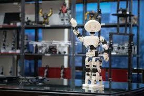 <p>The students of Dr. Ram Manohar Lohia Awadh University Engineering College have designed the first robot named 'NOW' of the university</p>