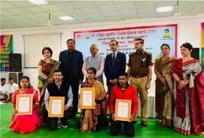 <p>The 'Tinka-Tinka Award' was presented to 13 inmates who showed their talent for painting while serving sentence in the country's jails. These were selected on the basis of national level painting competition.</p>
