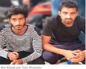 """<p>NEW DELHI: Failing to get protection money from Rs 30 lakh from a South Delhi businessman, gang members located in South West Delhi shot bullets at his restaurant.There, the gang did not stop and created a plan to murder him to send a message to other local businessmen. However, with the arrest of two members of the Manjeet Mahal-Pradeep Solanki gang, the Crime Branch foiled the plan.</p><p>The arrested people, Ravi Kharab (21) and Tinku Shivanshu (19), belong to Mundhela Kalan. They report to Solanki's brother, Satender Bhinda, who is managing gang activities as Mahal and Solanki are in jail.</p><p>At approximately 8:30 p.m. on September 11, two men on a bike opened fire at the restaurant """"The Spice Kitchen,"""" which was packed with customers at the time. One of the customers, Sundar Kumar, sustained a gunshot injury in his chest. The restaurant owner then informed the police that he had received an extortion call from an anonymous person.</p><p>DCP (Crime) Ram Gopal Naik said, """"On September 17, a team headed by ACP Shweta Chauhan and Inspector Kuldeep Singh got a tip that the criminals who shot at the restaurant would gather in Mitraon Chowk, Khair Village around 6 p.m. to plan to murder the restaurant owner.""""</p><p>Police have been zeroed in their locations with the help of technical surveillance. Soon the team flagged down the suspects who were riding a black bike. The criminals attempted to escape, but they were hunted down and detained. They were captured with a pistol, two live cartridges, a mobile phone and a SIM used in the crime.</p><p>Kharab has revealed that he has come into touch with the Bhinda gangster through a social networking site and has begun to exchange calls and emails with him. A few days earlier, he got a weapon from an unidentified source. He shot at the restaurant in the direction of Bhinda.</p><p>Shivanshu told the police that he had been arrested for possession of an illegal weapon in Bahadurgarh in July. He came into contact with Bhind"""