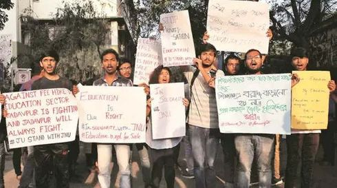 """<p class=""""ql-align-justify""""><span style=""""background-color: transparent; color: rgb(0, 0, 0);"""">Jadavpur teachers showed complete disapproval with police attack on the students of Jawahar Lal Nehru University(JNU). On Wednesday, the association of Jadavpur University Teacher'(JUTA) strongly condemned against the lathi charge done by the police on the students of JNU. JNU administration was criticised by the Mr Partha Patim Ray, who is the general secretary of JUTA because JNU administration refused to initiate dialogue with students.</span></p><p><span style=""""background-color: transparent; color: rgb(0, 0, 0);"""">A lathicharge was done on the JNU students on November 18,2019. JNU students were marching to parliament to review the fee structure. JUTA stated in a statement that """" JUTA notes with deep concern that the way the JNU administration unilaterally tried to impose the fee hike."""" Ray said that JNU is doing gross violation of democratic principles and practices. JUTA expressed their unity with the JNU students and the struggle they are doing against the policy of commercialisation of education by the government in the form of a new system.</span></p>"""