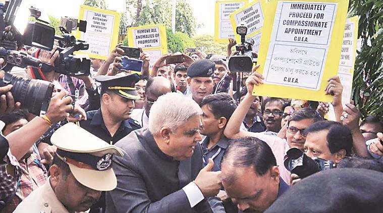 "<p><span style=""background-color: transparent; color: rgb(0, 0, 0);"">When West Bengal Governor Jagdeep Dhankar arrived at the College Street campus of Calcutta University, there was no senior officer present. On this, the Governor attacked the government and accused him of being a victim of policy paralysis of the state's education system. Dhankhar, the Chancellor of the University, who was seen as angry, attributed politics to the absence of Vice-Chancellor Sonali Chakraborty Bandopadhyay despite informing about his visit. The Governor said, ""I sent a message to the Vice-Chancellor that I am coming at two o'clock, and I will visit the University and its library."" A regular message was also sent. When I came here, you have seen that no one was present to receive me. ""Dhankar was seated in a room by a university employee. He once again said that the state's education system is a victim of policy paralysis. He said, ""I join hands and appeal to the state government not to politicize the universities."" For God's sake, don't waste education. Our universities should remain a temple of justice. Let the Vice-Chancellor work according to the law. ""He said,"" You have some role, I have some role. Our roles are defined; we should not step into each other's territory. If the government has some role, I also have some role as Chancellor. We should play it for the good of the university."" The Vice-Chancellor has not been contacted for his comments on the issue. The Governor is in confrontation with the Mamata Banerjee government on many issues. The ruling Trinamool Congress is accusing them of delaying the approval of the pending Bills.</span></p>"