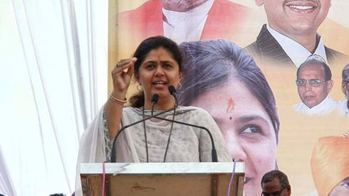 <p>Former Minister Pankaja Munde gave clarification about her thoughts regarding Bhartiya Janta Party during her speech in a public meeting, She said i can never rebel from the party. There is no betrayal in my blood i'll serve for party as my father did for his whole life. She also expressed her desire to leave the core committee of the party.</p>