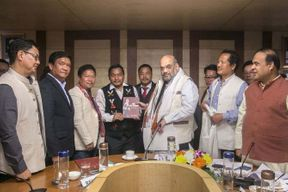 <p>The effect of the CAB will now be felt in the cricket ground as well. There was a huge protest after the CAB bill succeeded in passing the Rajya sabha. The fourth day's Ranji Trophy game is going to be played in Assam's capital Guwahati and Tripura's capital Agartala.</p><p>In Guwahati, the host Assam needs 165 runs to win whereas in Agartala the host Tripura and Jharkand are on the verge of having a tie match.</p><p>Both the cities are kept on curfew and the BCCI is yet to take the call on the fourth-day game. The local police are concern about the safety of match players and the audience that will show up to watch the match.</p><p>One of the team players of Assam said that when they were heading towards the hotel they saw people burning tires and they could reach safely because of the presence of police.</p>