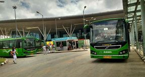 <p>The travelers who have a habit of using internet for booking online tickets of cabs, flights, and hotels will now be able to book the Vajra-Vayu bus online.</p><p>Passengers till now were needed to use the conventional way of booking the ticket but now they can do it online. The Vajra-Vayu bus mainly serves from the Bangalore city to the airport and from the airport to various parts of the city.</p><p>The state bus corporation had introduced AC Volvo buses in 2006 and at present, there are 88 air-conditioned buses which make 300 plus trip from the airport to the city and vice-versa.</p><p>A senior official said that they are working on mobile application up-gradation and are trying to collaborate with private web portals so that people can use it to book tickets. Since airport buses are running successfully we have increased the frequency of buses on the airport route.&nbsp;&nbsp;</p>
