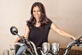 <p>We are all familiar with how difficult it is to be a woman motorcyclist in India but there are some people who come out from all odds and perceive their dream and passion.</p><p>Pooja Bajaj is a solo motorcycle traveler and recently she had an accident, She did not give up and just after 26 days of her Major surgery, she was back on the road again.</p><p>She is an entrepreneur and has learned how to ride by using her father's scooter when she was 14, She is riding a sports bike from the age of 16. She had an accident when she was traveling in a group to Himachal Pradesh and crashed her bike due to the fault of the biker who crossed the lane without giving any signal.</p><p>Her family told her not to ride the bike again but her love for bikes could not stop her and she recovered within 26 days.</p><p><br></p>