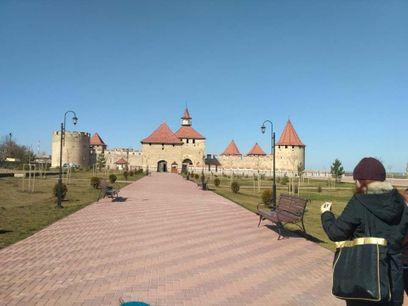 Бендерская крепость-одно из старейших сооружений Приднестровья. На фото вход в цитадель.