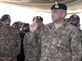<p>General Qamar Javed Bajwa, Chief of Army Staff (COAS), said the Pakistan Army is proud to maintain high levels of learning and physical fitness.</p><p>He said this while addressing garrison officers participating in the Karachi Championship of Physical Agility and Combat Efficiency System (PACES) on Friday, the ISPR said in a statement.</p><p>The head of the army attended the championship closing ceremony and observed mechanized training exercise. He spoke about the environment, challenges, and response to officers.</p>