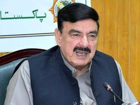 "<p>Federal Railway Minister Sheik Rashid said on Saturday that Jamiat Ulema-e-Islam-Fazl's (JUI-F) ' Azadi March ' might not be on the ""black list"" of the government and that Maulana Fazlur Rehman could be allowed to ""save face.""  </p><p>""It's against the spirit of democracy to close the doors for talks. The political career of Maulana Fazlur Rehman can end as someone else pulls his strings, ""the federal minister said.</p><p>On October 31, JUI-F leader is expected to march on the federal capital to ""top the PTI administration,"" accusing it of coming to power through rigged elections.</p><p>On Friday, President Shehbaz Sharif of Pakistan Muslim League-Nawaz (PML-N) declared that his party would ""participate fully"" in the protest against the government.</p>"