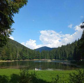 Синевир - найглибше і найбільше за площею гірське озеро України, а також найвідоміше озеро в Українських Карпатах, розташоване у верхів'ях річки Тереблі.