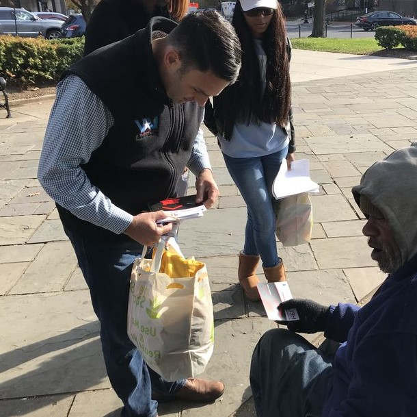 <p>On the Veterans Day on Monday, about 40 volunteers who were led by a handful of former military personnel went out and searched for homeless veterans in the District of Columbia. The volunteers visited shelters and other placed, which are frequented by the homeless. They gathered in the parking lot of Shiloh Baptist Church and broke in smaller teams.&nbsp;</p><p>They had kits with them, which contained toiletries, gloves, socks, and wool caps. The kits were handed over to everyone who needed them. They also gave out cards that had all the information about the temporary shelter or assistance provided by Veterans Affairs. Alfred Burley, who is 71-year-old, said that he started Veterans on the Rise back in 1980 after he struggled with drug addiction that forced him to live on the street for many years. He was a paramedic with the Army in Germany during the end of the Vietnam War.</p><p><br></p><p>&nbsp;&nbsp;</p><p><br></p>