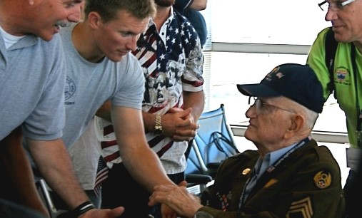 <p>Ralph Siple, who is 96-year-old, was a B-17 pilot and flight instructor during WWII. He was chosen for the DC trip and the only one from the Boise area, along with 45 other veterans from across the country. Honor Flight Network is a non-profit organization that provides a chance to the veterans to visit DC and see memorials dedicated to those who served and gave their lives for the country. Siple said that it is an honor for him to be able to go back to DC and see the memorials.&nbsp;</p><p>He was hopeful that he might come across some of the old people from the time of the way. Siple went to Washington on Friday with his daughter to meet the rest of the veterans. He was scheduled to visit WWII Memorial and Arlington National Cemetery, along with taking part in traditional Mail Call.</p><p>&nbsp;</p><p>&nbsp;</p>
