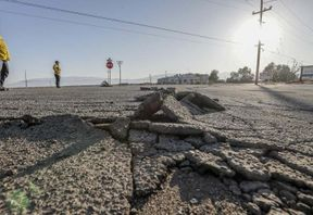 <p>A section of California desert was rattled by a handful of small earthquakes close to the Mexican border. The tremors ranged from 2.5 to 4.0 on the Richter scale. According to the reports, there was no damage to any property of life.&nbsp;</p><p>As per the report issued by the United States Geological Survey, the first quake hit the desert at around 6 PM and was measured at 2.8 on the Richter scale. The largest tremor was felt after about five minutes. There were four more shocks after that in one hour. According to the reports, the epicenter of the quakes was El Centro, which is a city around 15 miles northwest of Mexicali, Mexico. Around 44,000 people are living in that city.</p><p><br></p>