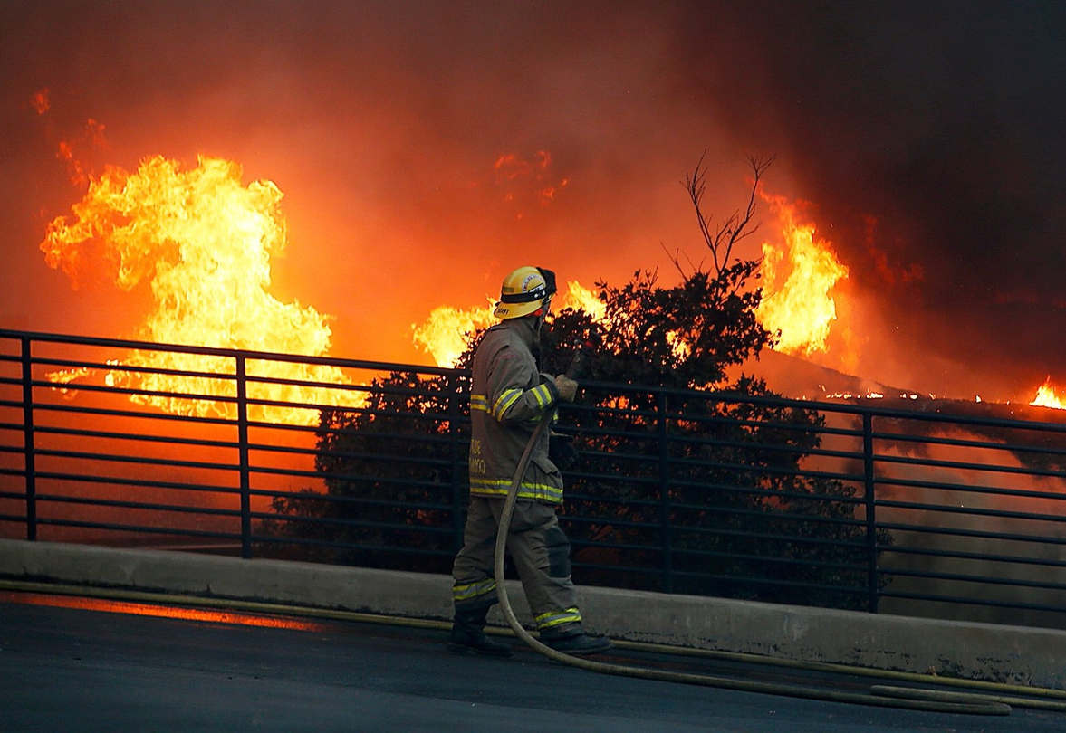 <p>Many residents of California are still haunted by the scent of fire and smoke even though it no longer exists. The residents are also afraid of the monstrous winds that tormented them and stoked the wildfire. The winds and fire combined to destroy her neighborhood in Northern California.&nbsp;</p><p>The winds keep on threatening the residents. The wildfire two years ago gave them just a few minutes to escape from their homes. Their longtime family home was burned down due to the fire. They build a new home and again were threatened by the wildfire.&nbsp;</p><p>California, which was seen as a golden land of opportunity, is witnessing its new normal. The new normal is massive wildfires, and some of the residents are fleeing. The ones who remain are living a life interrupted by electrical outages and constant risks of fires.</p><p><br></p>
