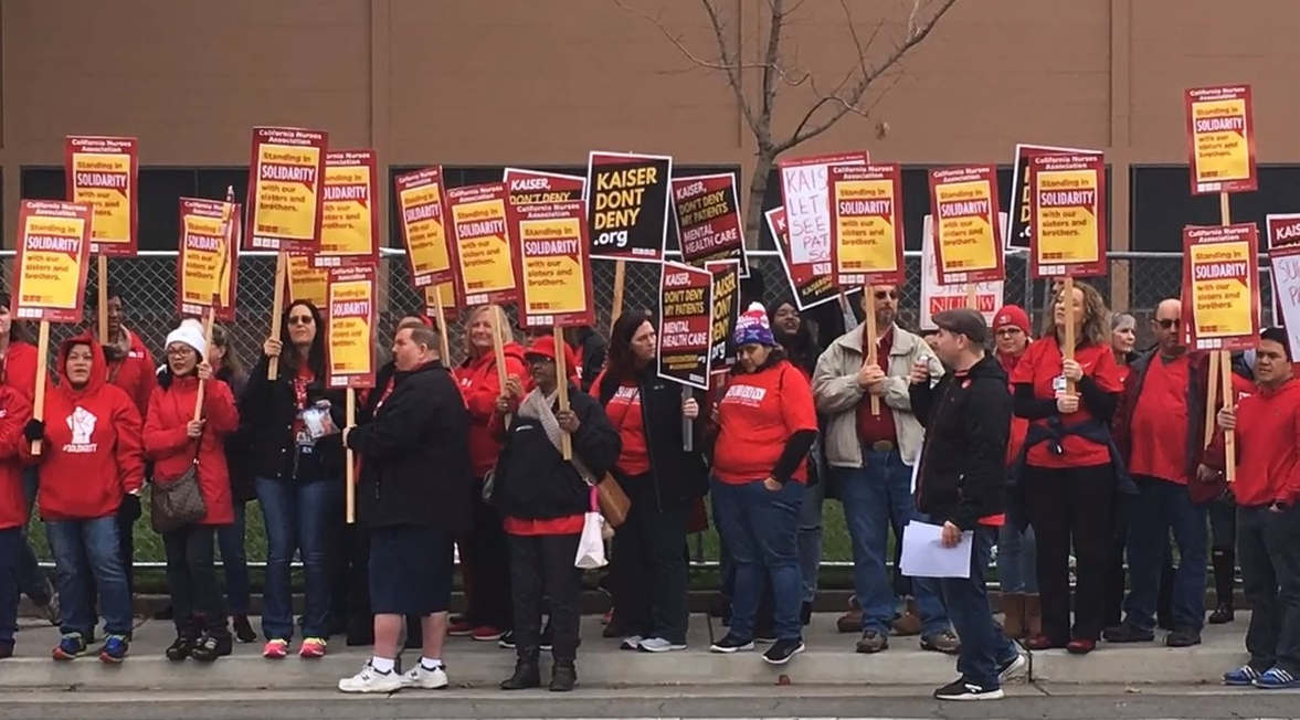 <p>A five-day strike, which was scheduled for the week of December 16, has been postponed in the light of the sudden demise of the company's chief executive officer, Bernard Tyson. According to the reports, the union that represents 4000 Kaiser Permanente mental health clinicians made the announcement. The strike is going to affect patients at more than 100 facilities run by Kaiser in California from Sacramento to San Diego. One of the main demands put up by the workers is to shorten the waiting period for patients who are trying to schedule return visits for behavioral health treatment and reduce caseloads for therapists. Ken Rogers, who is a Kaiser psychologist, said in his statement that Mental health has been overlooked and underserved. They are ready to work with Kaiser to form a new model for mental health care. It is not right to force patients to wait for two months for appointments. The clinics are overloaded with cases. The situation can only get better if Kaiser steps up and commit to fix the system and treat the patients and caregivers fairly.</p><p><br></p><p><br></p>