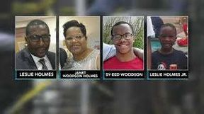 """<p>PHILADELPHIA —It was a very emotional scene during Saturday night's vigil that four family members were found murdered inside their home in West Philadelphia.</p><p>A large crowd gathered outside the home for a protest on the 5000 block of Walton Street.</p><p>Maurice Louis, 28, admitted Thursday that he had killed four members of his own family.</p><p>His mother, stepfather, and two half-brothers, aged 7 and 18, were found dead on Wednesday afternoon. Sources say Action News Louis killed his family on Tuesday. Police say they found Louis naked sitting in a chair drinking a bottle of Vodka and a rifle case on the floor.</p><p>The victims were identified as Janet Woodson Holmes, 52, Leslie Holmes, 56, Sy-eed Woodson, 18, and Leslie Holmes Jr., 7.</p><p>Relatives said that Louis had suffered from depression and had been medically treated. Nevertheless, Commissioner Coulter said that she did not see any medical records showing any mental problems.</p><p>""""It's like you'd never think it would happen, and my sister, who treated him, gave him everything,"""" said Reggie Woodson.</p><p>Janet was an entrepreneur, running a hair salon from her home. She and Leslie also worked at the Protestant Home in Philadelphia. The Chairman, Anthony Manzo, said Thursday was a difficult day in the workplace.</p><p>Janet and Leslie had been together for almost two years, knotting Easter in their house with their family and friends.</p>"""
