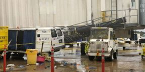 "<p>MEMPHIS, Tenn .- After the mid-south storm on Monday morning, workers are restoring at Memphis International Airport.</p><p>""We had an A jet bridge that was blown into the building and we had some glass damage here at Mezzanine level,"" said Glen Thomas, Director of Marketing and Communications at Memphis International Airport.</p><p>Airport officials state that the scaffolding caused the glass to crack. No aircraft or travelers were injured, but there were some delays. ""This morning, during the tornado warning, we had to move travelers from the contests to the ticketing area where we had wider security zones,"" Thomas said.</p><p>""I am going to make my plane on time and if it was going to be postponed or canceled,"" said Memphian Dannie Wright. ""I was at school, but everybody was worried about hearing the sirens and they won't go outside until they heard the sirens.""</p><p>Janet Booker, a native of Dallas, was concerned about the storm hitting back home, but little did she know that Memphis was on severe weather radar as well. ""We were worried that Dallas might wake up this morning to find out that Memphis was struck, too,"" Booker said.</p>"